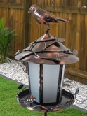 Check out our new Solar Lit Bird Feeder and Garden Light
